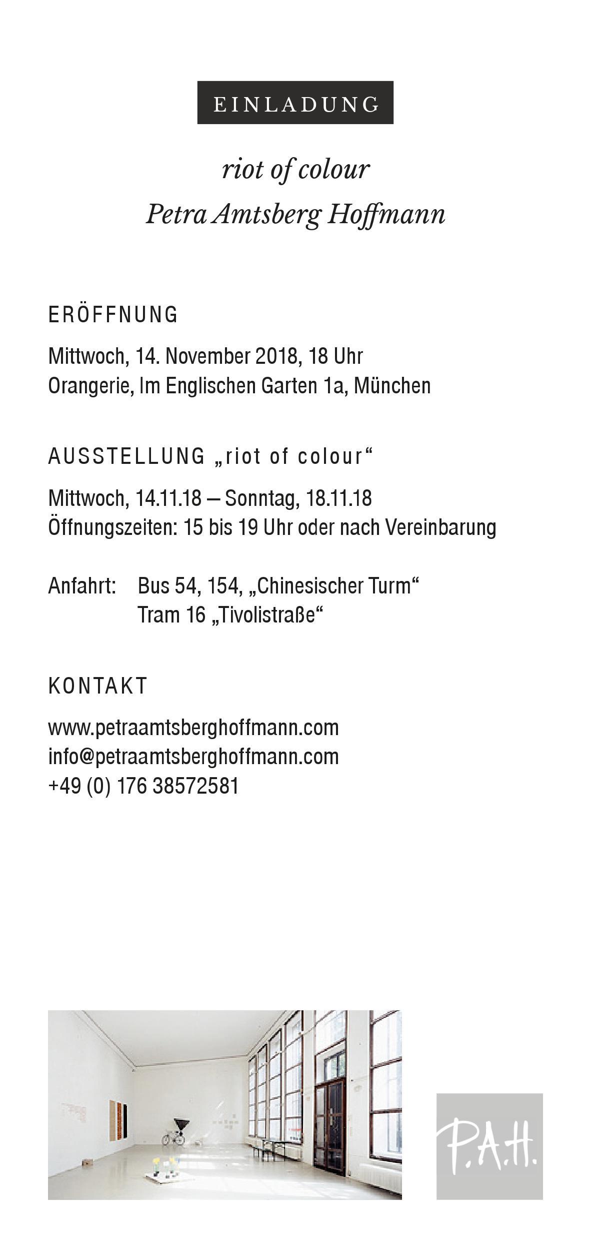 Riot of Colour | Englischer Garten München Orangerie